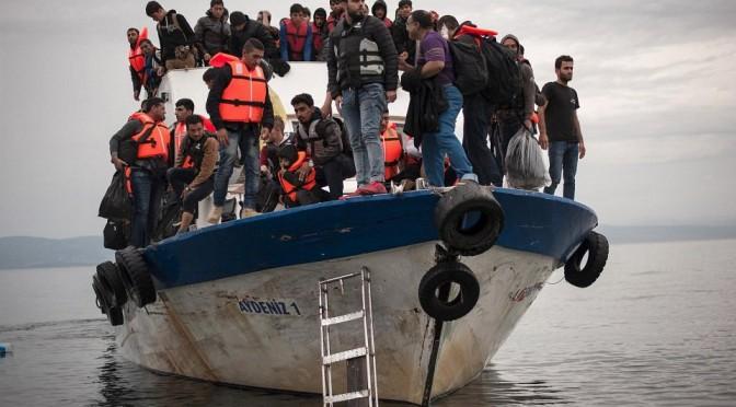 Морские волны — последний этап пути беженцев