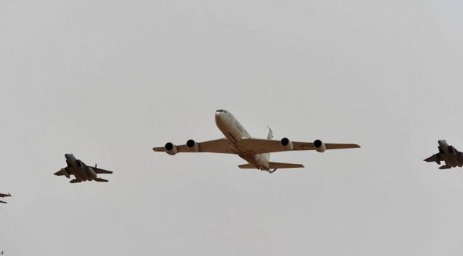 Иранское агентство «Мехр» впервые продемонстрировало пакистанский истребитель «ар-Раад» («Гром») в небе Королевства