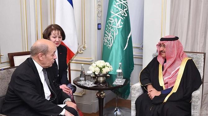 Его Высочество наследный принц был принят министром обороны Франции