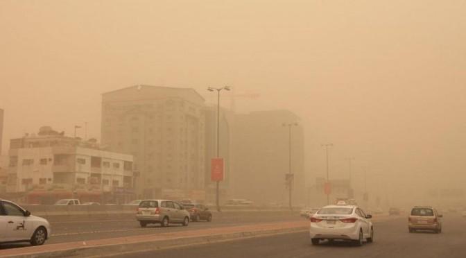 Песчаная буря накрыла Джидду