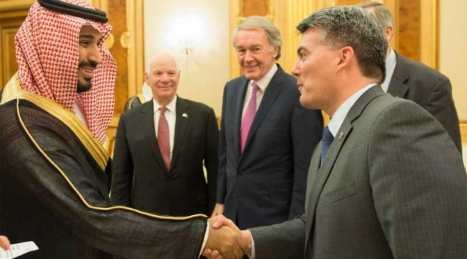 Заместитель наследного принца принял делегацию конгресса США