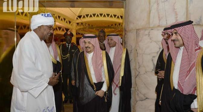 Губернатор Эр-Рияда принял губернатора Хартума
