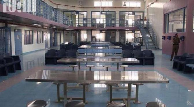 Прогулочные дворики и крытые спортзалы для осужденных исправительной тюрьмы в Эр-Рияде