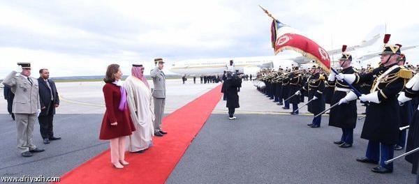Наследный принц прибыл во Французскую республику с официальным визитом