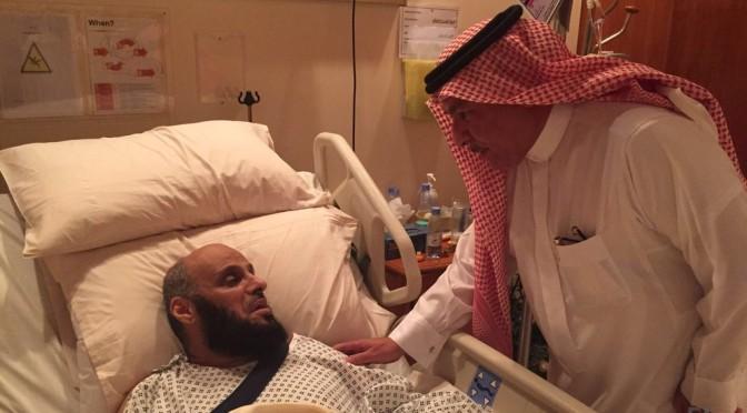Муфтий Королевства посетил шейха Аида Карни, дабы справится о его здоровье