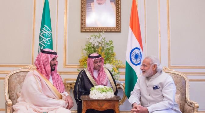 Его Высочество заместитель наследного принца принял премьер-министра Индии