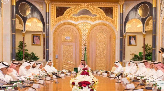 Под председательством Его Высочества наследного принца Совет по экономике и развитию обсудил ряд вопросов и определил пути их решения