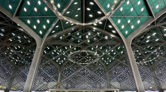 Железнодорожная станция маршрута «Двух Святынь» в Медине — архитектурный шедевр