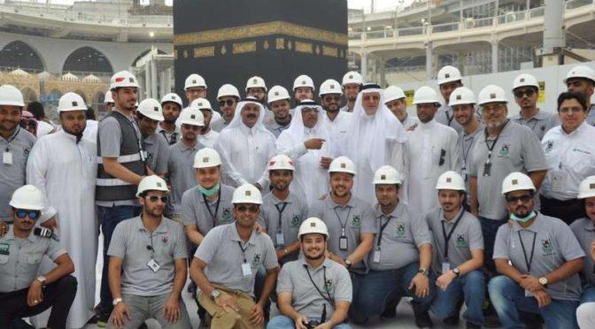 53% площади для совершения тавафа Каабы освобождено спустя 14 дней непрерывной работы