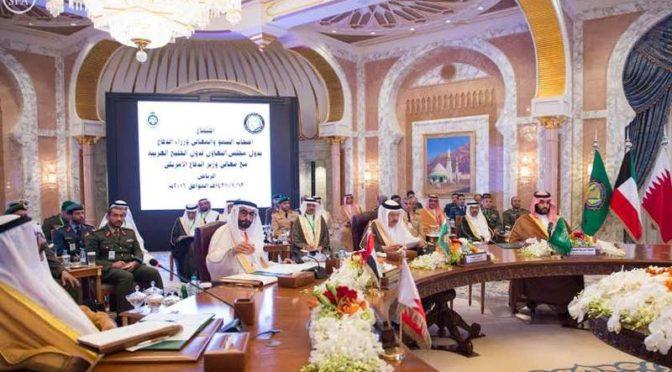 Заместитель наследного принца заявил в присутствии министра обороны США и министров обороны стран Залива: только совместными усилиями мы сможем достичь результата