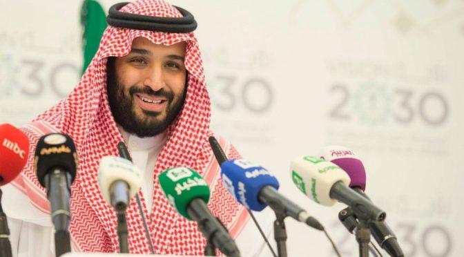 Его Высочество заместитель наследного принца втретился с министром торговли США, и обсудил с ним вопросы торговых отношений и пути их развития