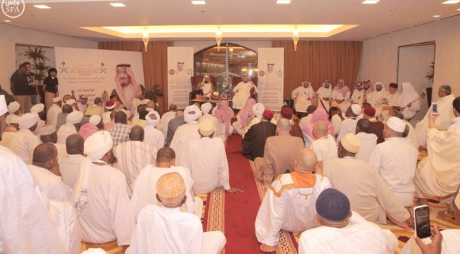 Шейх аль-Муайкили встретил шестую группу гостей Служителя Двух Святынь в Благородной Мекке