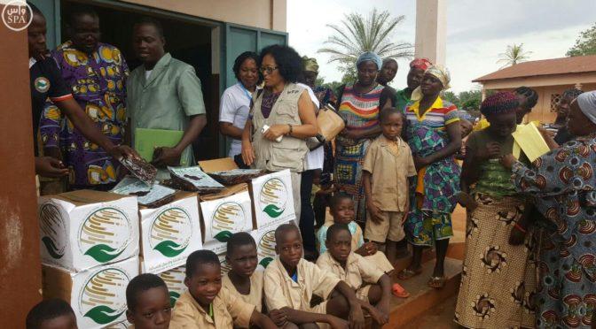Центр гуманитареной промощи им.Короля Салмана предоставил республике Бенин 72 тонны  фиников в рамках Международной продовольственной программы