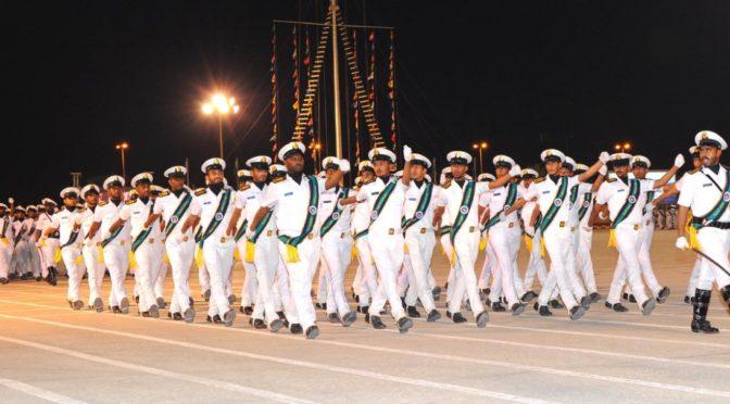 Технический институт ВМФ в Восточной провинции проводит 63-ю церемонию выпуска курсантов