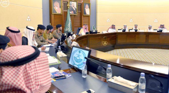 Губернатор провинции Касым возглавил заседание Высшей комиссии по безопасности дорожного движения