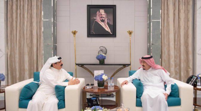 Служитель Двух Святынь принял Короля Бахрейна и дал торжественный ужин в его честь