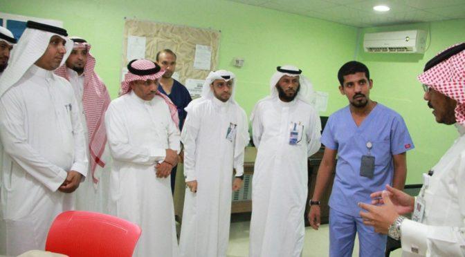 Начальник департамента здравоохранения провинции Джазан  посетил переоборудованные отделения муниципальной больницы