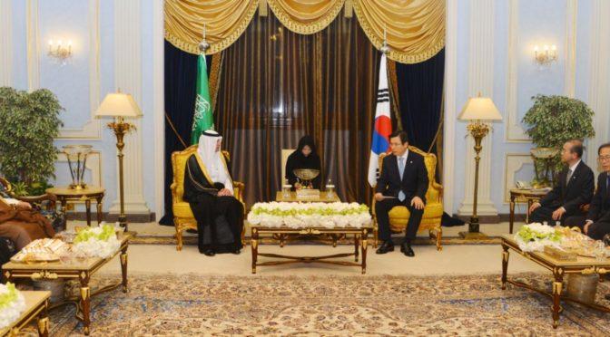 Премьер-министр Южной Кореи принял Его  Честь Министра иностранных дел Королевства