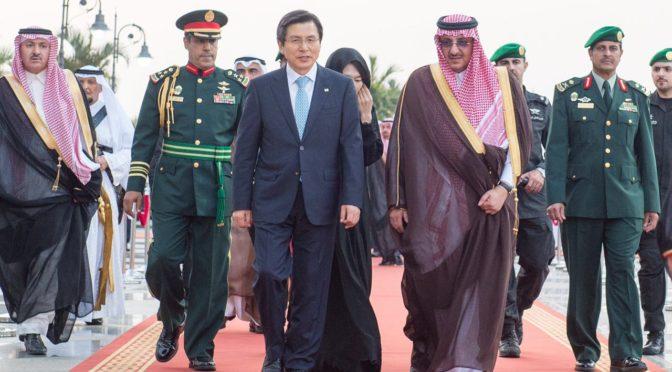 Его Высочество наследный принц дал торжественный ужин в честь премьер-министра республики Южная Корея