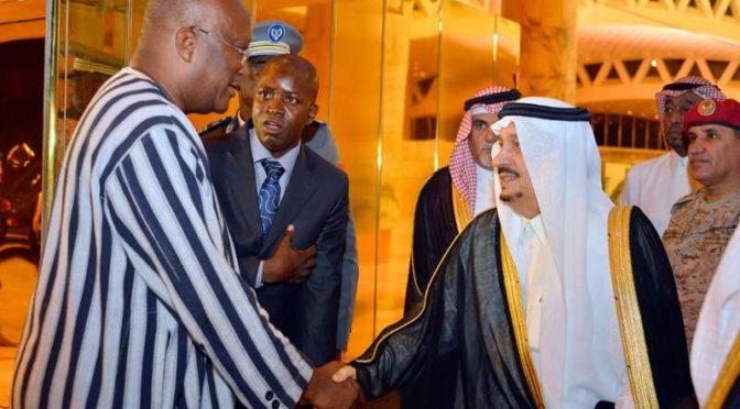 Президент Буркина-Фасо прибыл в Эр-Рияд