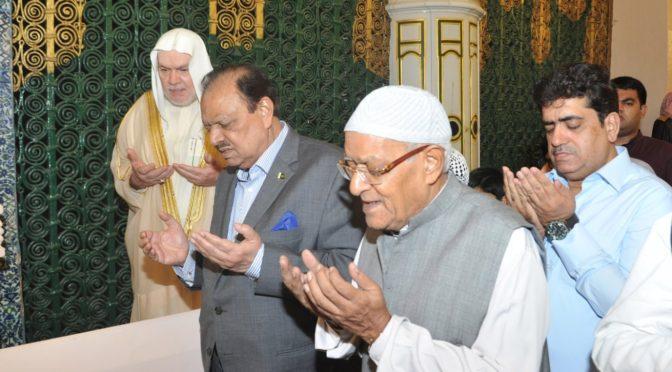 Президент Пакистана посетил Мечеть Пророка