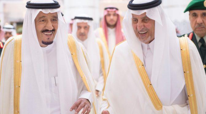 Служитель Двух Святынь отбыл в Благородную Мекку, дабы провести последние 10 дней Рамадана рядом с Запретным Домом Аллаха