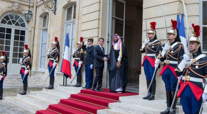 Его Высочество заместитель наследного принца встретился с премьер-министром Франции