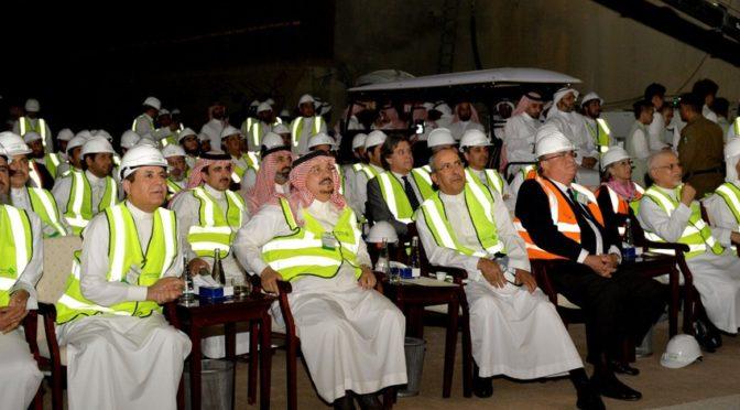 Губернатор Эр-Рияда осведомился о стадии исполения проекта метропоитена Эр-Рияда