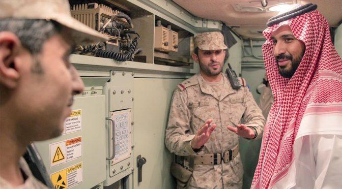 Его Высочество заместитель наследного принца инспектировал подразделения ПВО в Наджране, принял участие в ифтаре с военнослужащими и председательствовал на военном совещании в провиниции