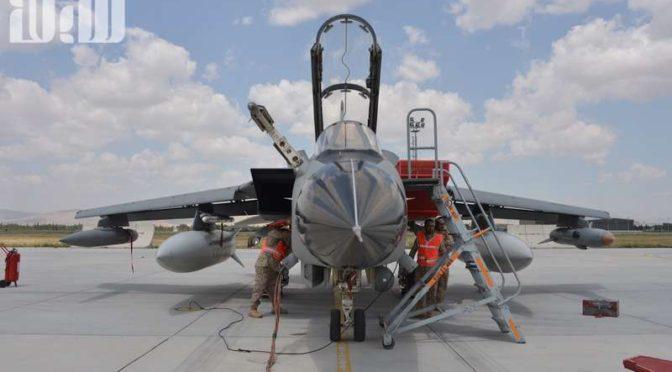 Саудийские пилоты и технический персонал продемонстрировали высокую эффективность во время учений «Анатолийский орёл»