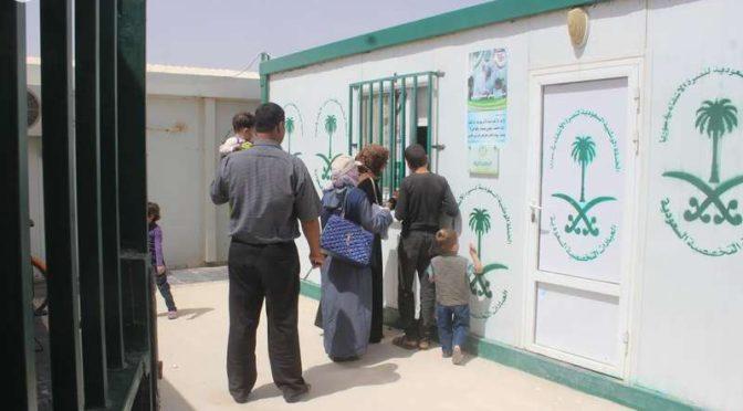 Саудийские провизоры ослужили 8220 врачебных рецептов в лагере сирийских беженцев Заатари