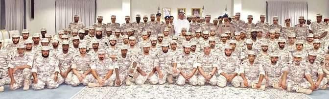 Министр обороны Катара инспектировал в Наджране катарских военнослужащих, находящихся в составе коалиции