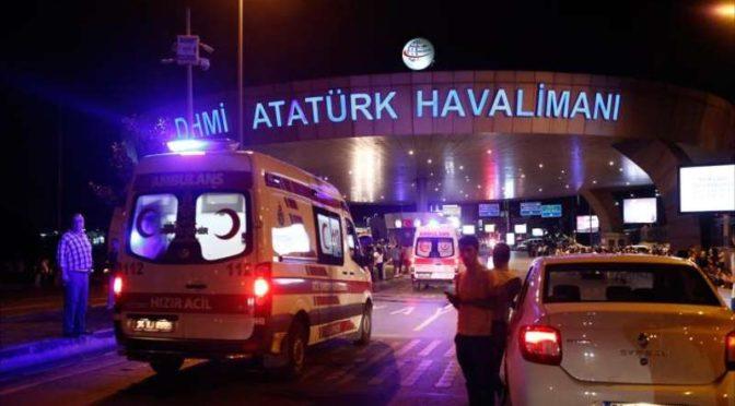 Посольство Королевства в Турции: семь саудийцев получили ранения в результате взрыва в аэропорту им.Ататюрка
