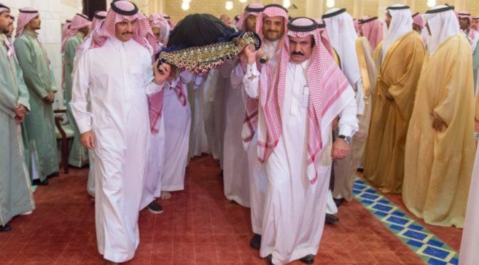 Наследный принц совершил похоронную молитву над принцессой  Джоухарой бинт Фахд бин Абдулазиз