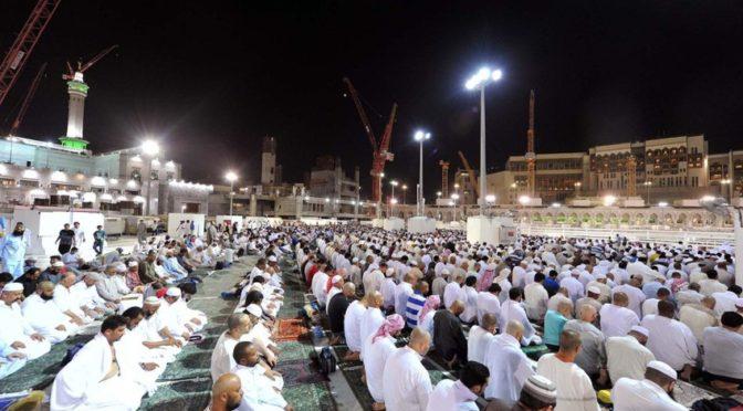 Запретная Мечеть в последнюю декаду Рамадана