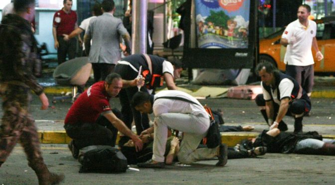 Терроризм нанёс удар по Турции