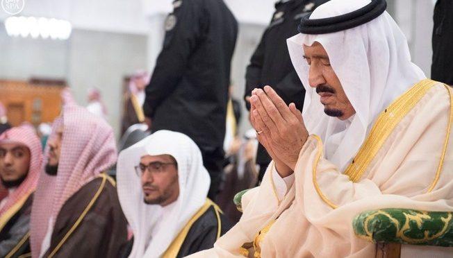 Служитель Двух Святынь принял принцев, учёных, шейхов, министров и высокопоставленных чиновников