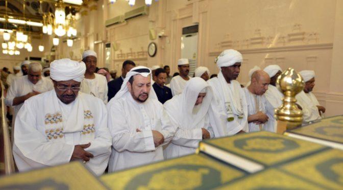 Президент Судана посетил Мечеть Пророка