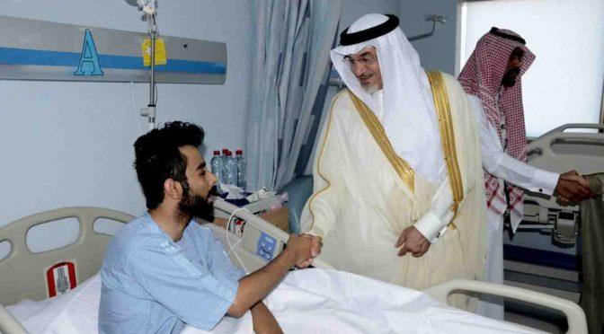 Заместитель губернатора Ахсы посетил тяжелобольных  пациентов в стационаре