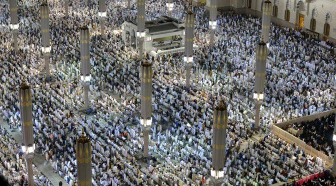 Более двух миллионов молящихся присутствовали при завершении прочтения Благородного Корана в Мечети Пророка