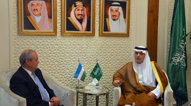 Министр иностранных дел принял своего коллегу из Узбекистана