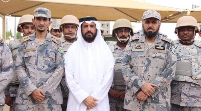 Заместитель губернатора Джазана посетил раненых ополченцев армии Йемена и инспектировал подразделения, дислоцированные на переднем крае обороны
