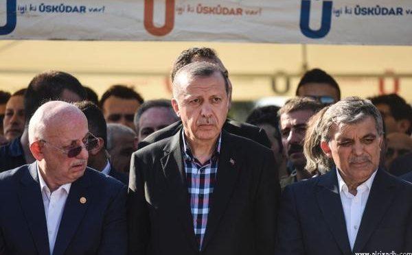 Эрдоган посетил похороны
