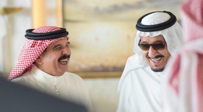 Служитель Двух Святынь принял Короля Бахрейна