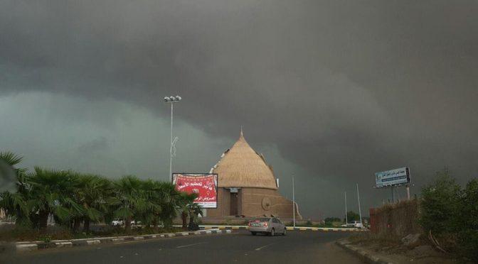 Проливные дожди прошли в провинции Джазан