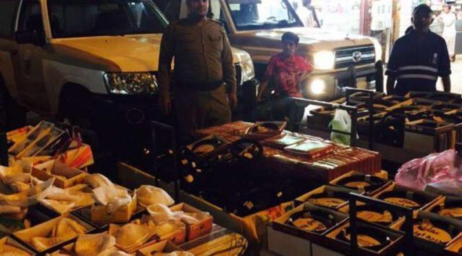 Компания, проводимая силами безопасности, смогла выявить 43 нарушителей общественного порядка в Таифе