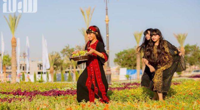 Фестиваль цветов и фруктов в Табуке собрал 75 тыс.посетителей за 3 дня работы