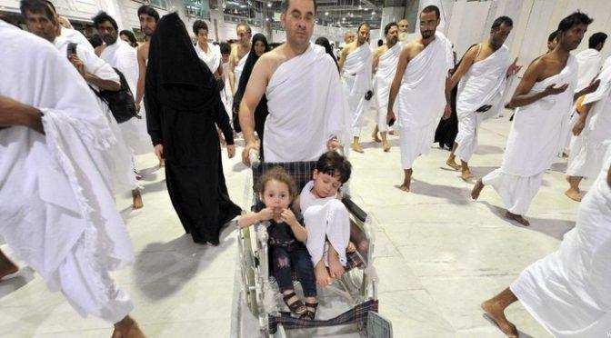 Атмосфера веры в Запретной Мечети