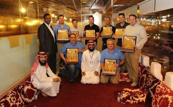 «Подарок миру» вручается европейским инженерам, впервые посещающим Королевство
