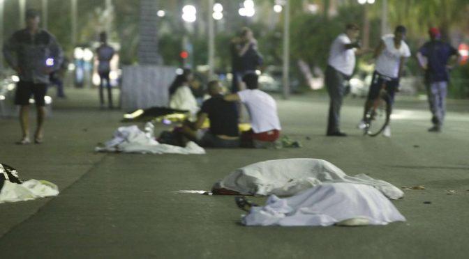 Терроризм вновь нанёс удар по Франции